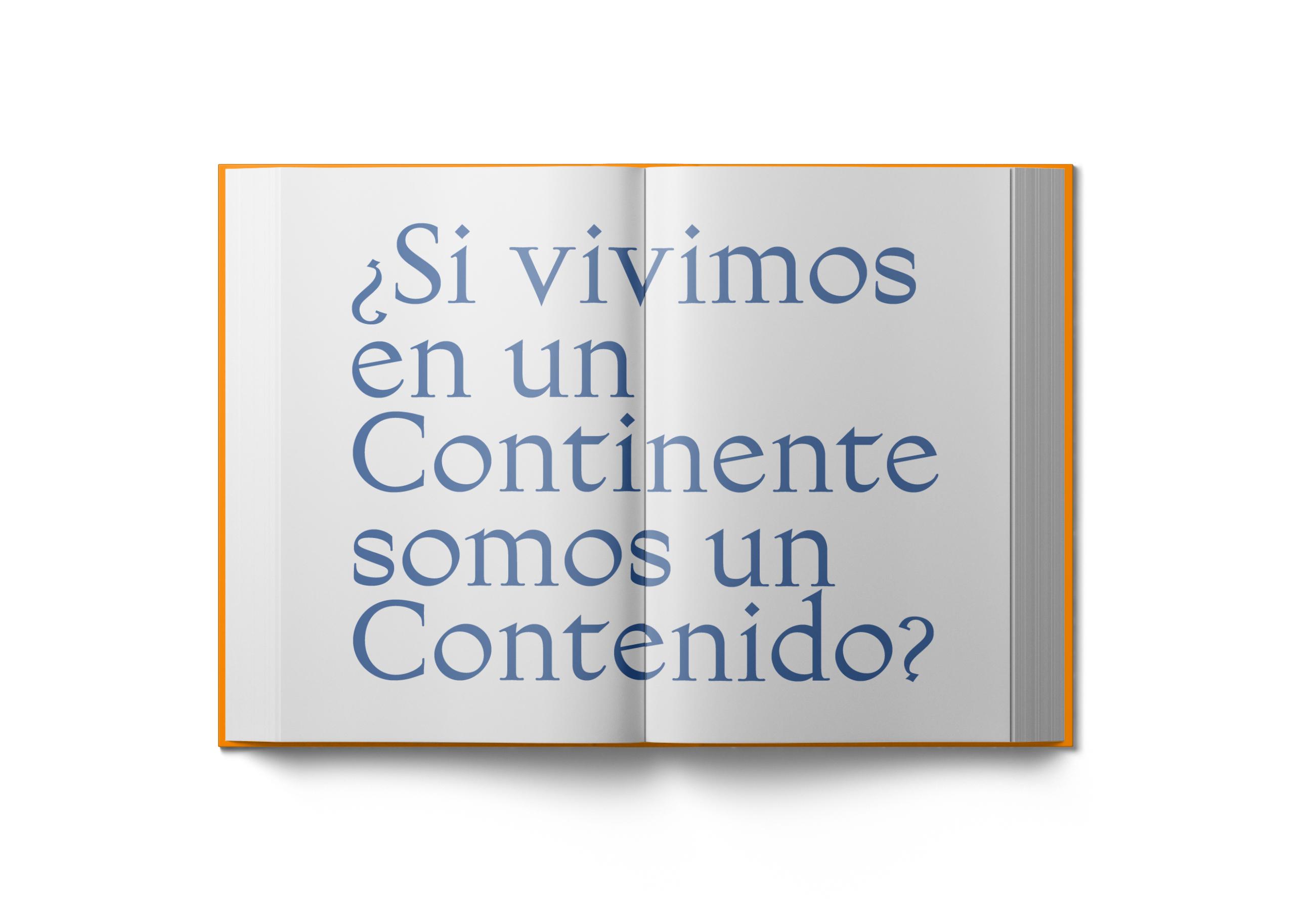 interior libro Content Continent