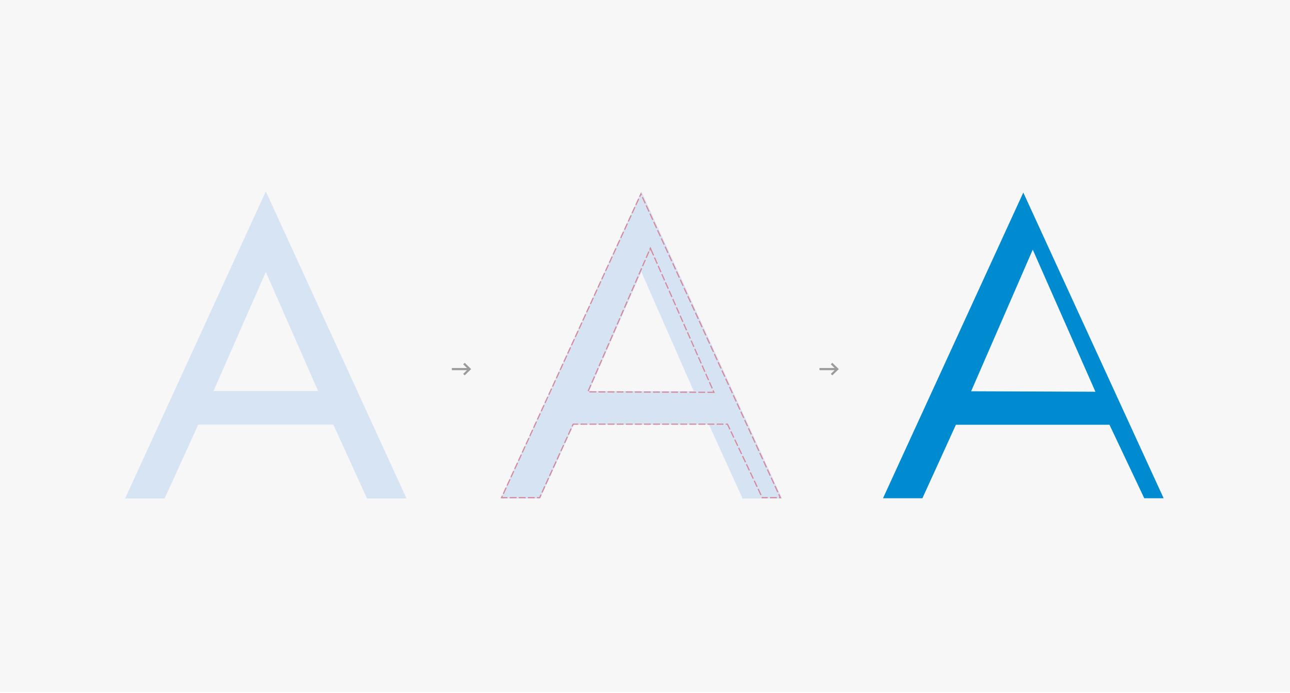 Tipografía A